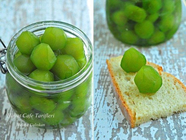 yeşil incir reçeli