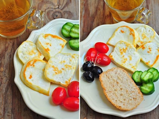 peynir kızartması