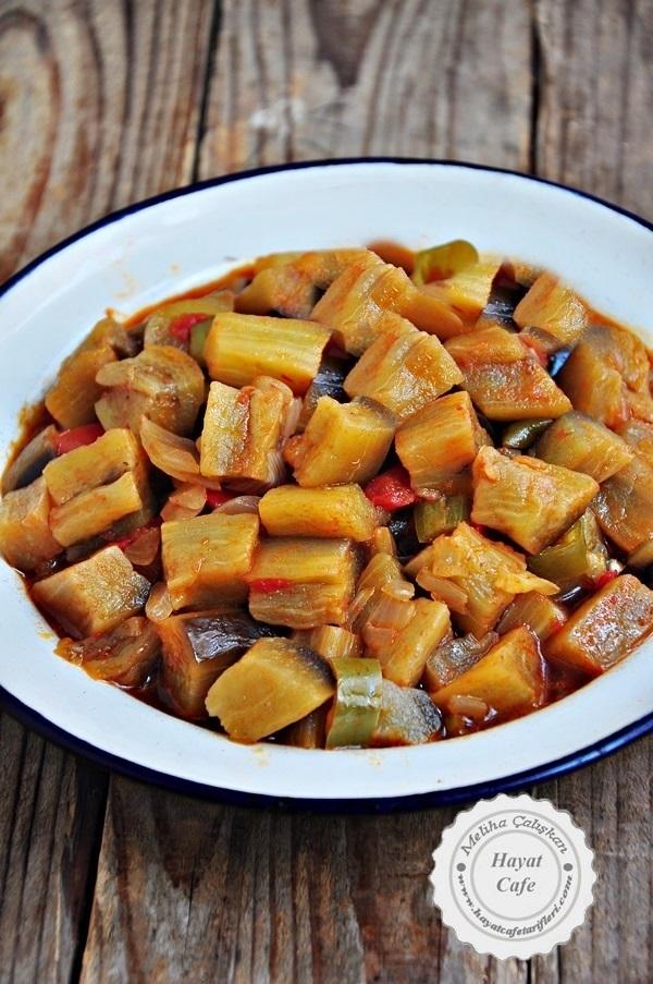 basit patlıcan yemegi