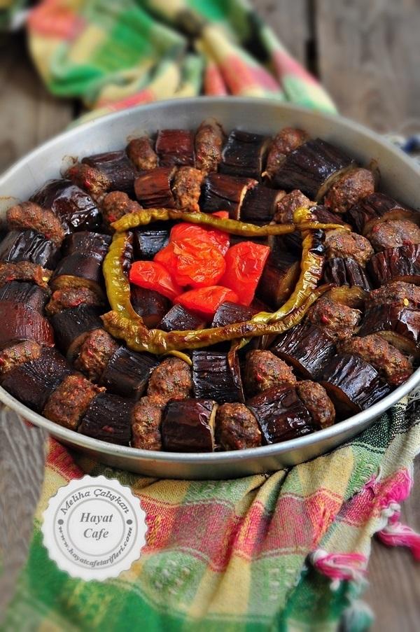 fırında patlıcan kebap tarifi