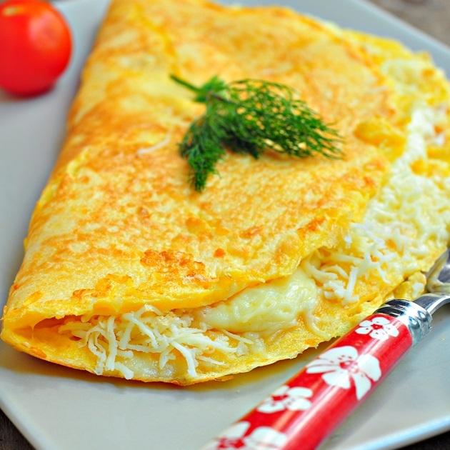 peynirli omelt nasıl yapılır