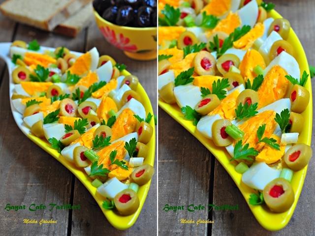 yumurtadan salata tarifi