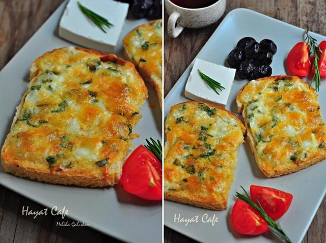 kahvaltılık peynirli ekmek