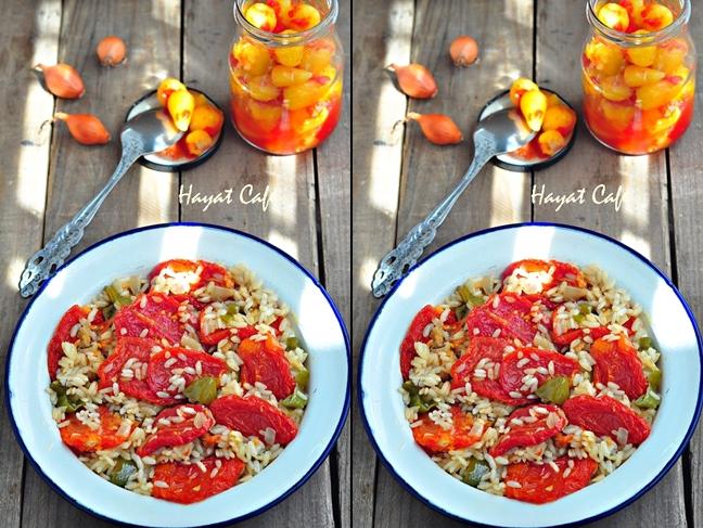 kurutulmuş domates yemeği
