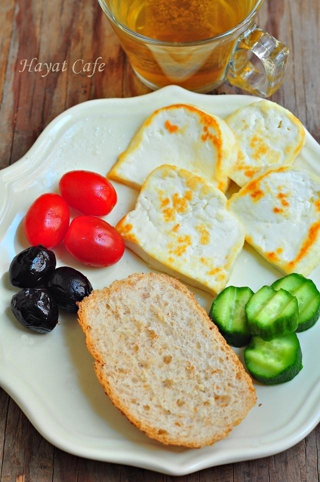kahvaltılık peynir kızartması