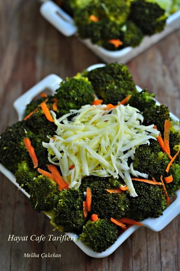 lezzetli kolay brokoli salatasi