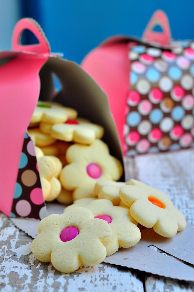 şekerlemeli kurabiye