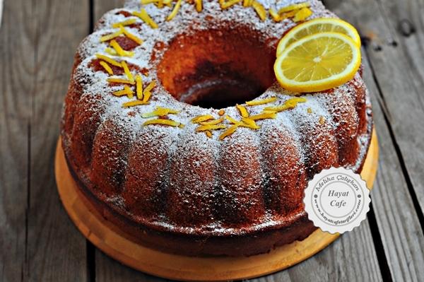 limon kek tarifi