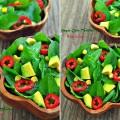 farklı salata