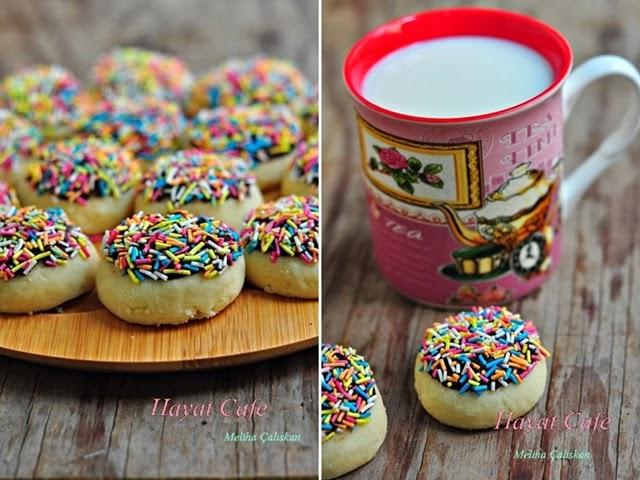 ağızda dağılan kurabiye yapılışı