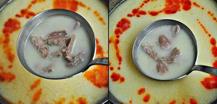 Terbiyeli Etli Çorba