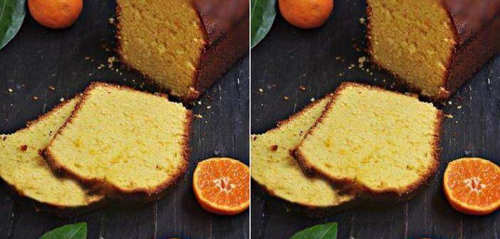 Mandalina Suyuyla Kek